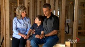 Calgary builder donates home to support hospital care for children (01:49)