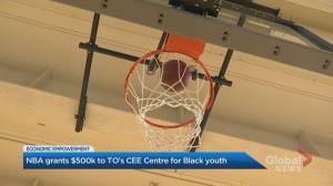 NBA grants $500K to Toronto organization to build economic prosperity among Black Canadian youth (02:30)