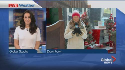 Global News Morning weather forecast: WEDNESDAY, November 25, 2020 | Watch News Videos Online