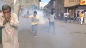 Clashes break out in Indian-administered Kashmir after Friday prayers