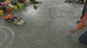 Outpouring of support for victims of Kamloops residential school (01:57)