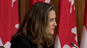 Freeland assures fiscal guardrails will be 'anchored' by the time COVID-19 recovery plan released (10:07)