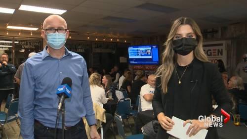 Lethbridge mayor-elect Blaine Hyggen wins by slim margin | Watch News Videos Online