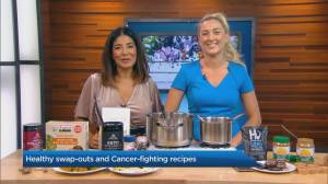 Healthy food swap-outs to help fight cancer