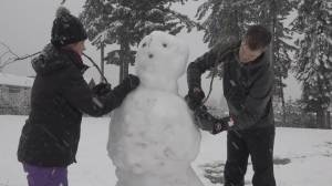 Winter storm slams into B.C. (01:53)