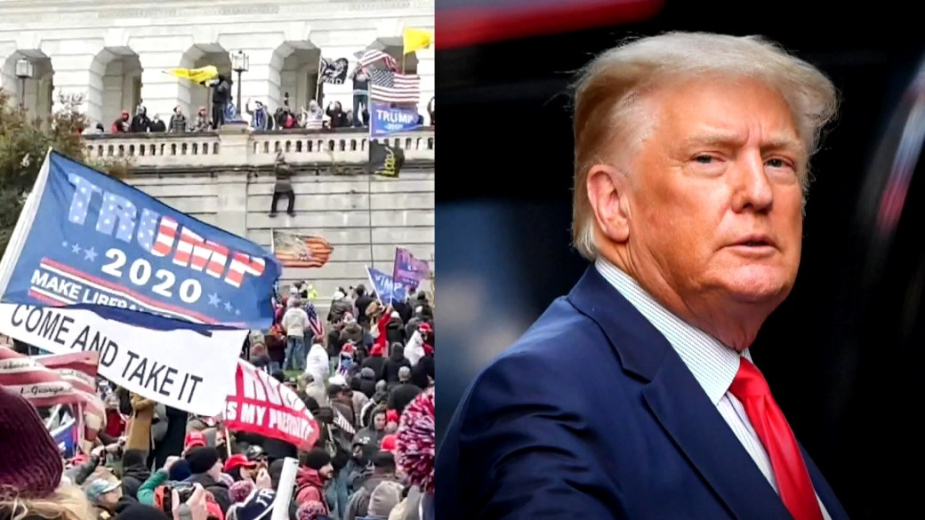 Click to play video: 'New York probe of Trump Organization now criminal as US lawmakers back study of Capitol riot'