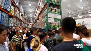 China gets first Costco store, frenzied shoppers shut it down