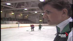 Power skating coach Steffany Hanlen marks 40 years of coaching top athletes (02:21)