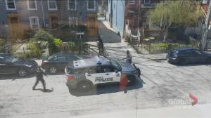 Man who witnessed takedown of porch thief suspect in Toronto praises officer's response