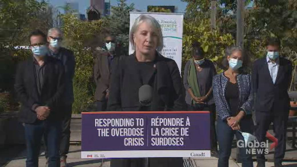 Click to play video: 'Health Minister announces $9.5 million funding for opioid crisis in Ontario'