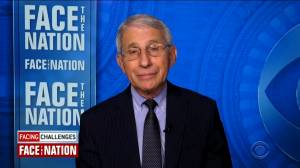 Fauci says U.S. could see possible 'relaxation' of COVID-19 restrictions into summer (01:12)