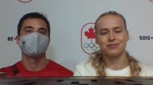 Ellie Black calls withdrawal from Olympic event over injury 'frustrating, upsetting' (06:18)