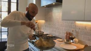 Celebrity chef Rob Gentile shows you how to cook 'Cacio e Pepe'
