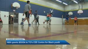 NBA grants $500K to Toronto's CEE Centre for Black youth (02:52)