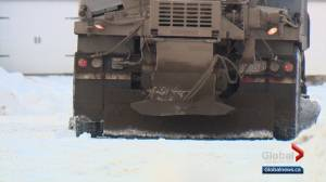 City of Edmonton provides update on snow-clearing progress this season