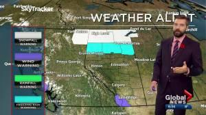 Edmonton weather forecast: Tuesday, November 3, 2020 (03:05)