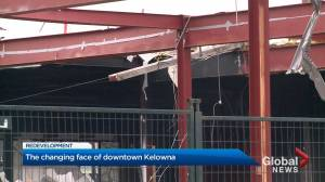 'We're going to be bringing jobs downtown'; Face of downtown Kelowna changing (02:07)