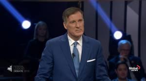 Leaders' Debate: Singh, Bernier clash over views on immigration