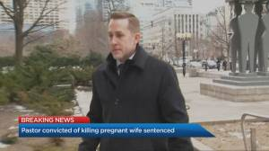 Former Toronto pastor sentenced to 15 years in the drugging and drowning of his pregnant wife