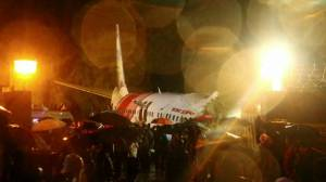 At least 15 dead after Air India Express plane crash lands in Calicut