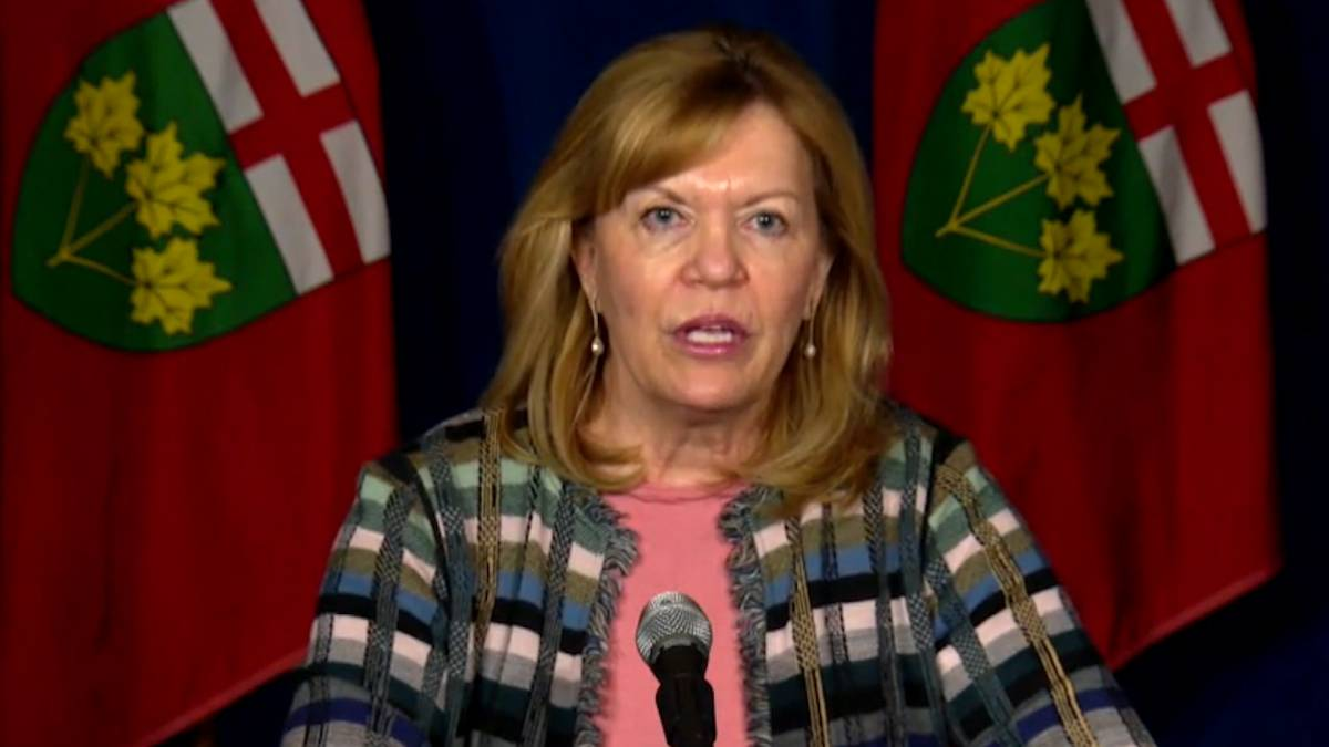 Click to play video: 'Ontario waiting on determination from NACI, Health Canada on 2nd AstraZeneca COVID-19 shot: Elliott'