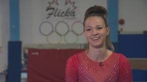 North Vancouver gymnast Shallon Olsen is 'flippin' awesome' (02:33)