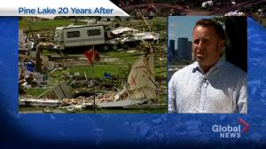 'I remember it clearly, but it still seems like a very surreal event': Andrew Schultz on Pine Lake tornado