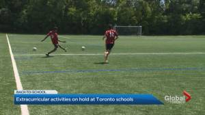 Toronto schools pause extracurricular activities (02:22)