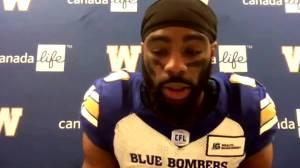 RAW: Blue Bombers Rasheed Bailey Interview – Oct .15 (04:41)