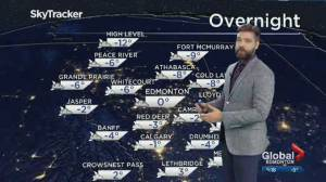 Global Edmonton weather forecast: Jan. 3