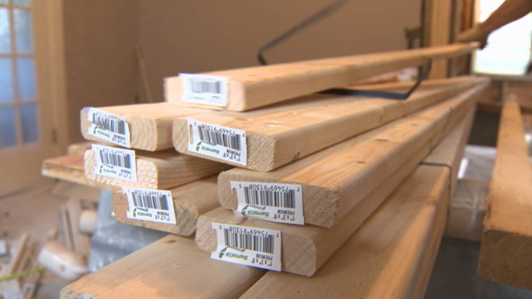 Click to watch video: 'Lumber prices in British Columbia have skyrocketed in the past 18 months'
