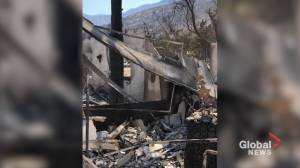 Bobcat fire: Footage shows scorched building, earth in California