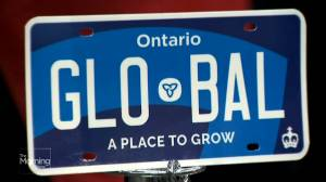 Visibility concerns raised over new Ontario licence plates