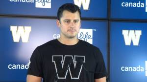Zach Collaros: I'm happy to get this deal done