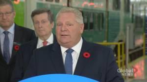 Toronto mayor, premier talk national unity and transit