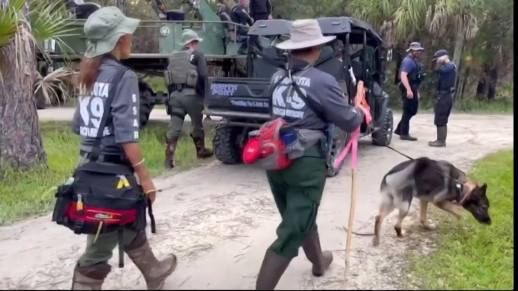 Click to play video: 'Gabby Petito case: Police search for Brian Laundrie in Florida wilderness'