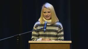 Kidnapping survivor Elizabeth Smart speaks in Lethbridge
