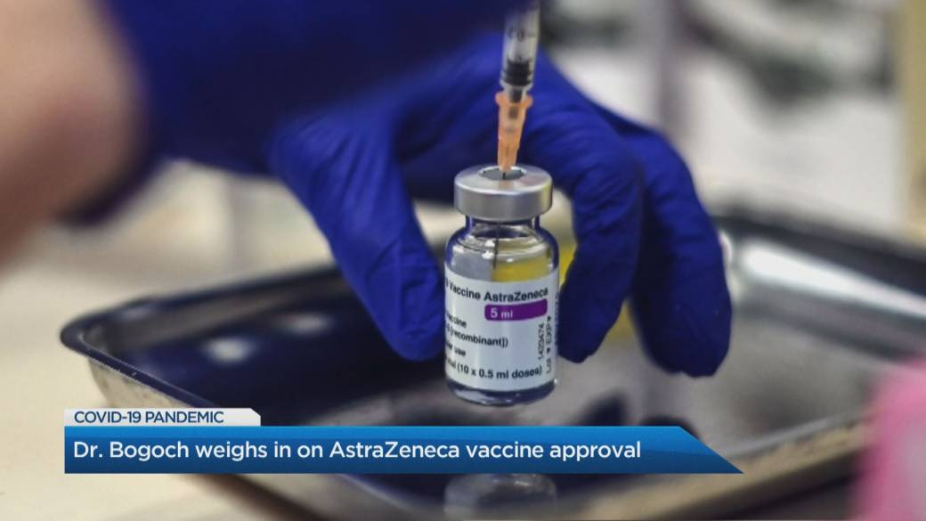 Click to play video 'Doctor weighs in on AstraZeneca vaccine approval'