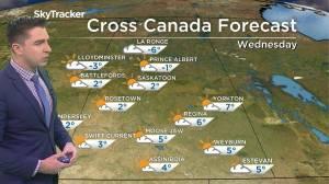 Back to positives: Nov. 17 Saskatchewan weather outlook (02:32)