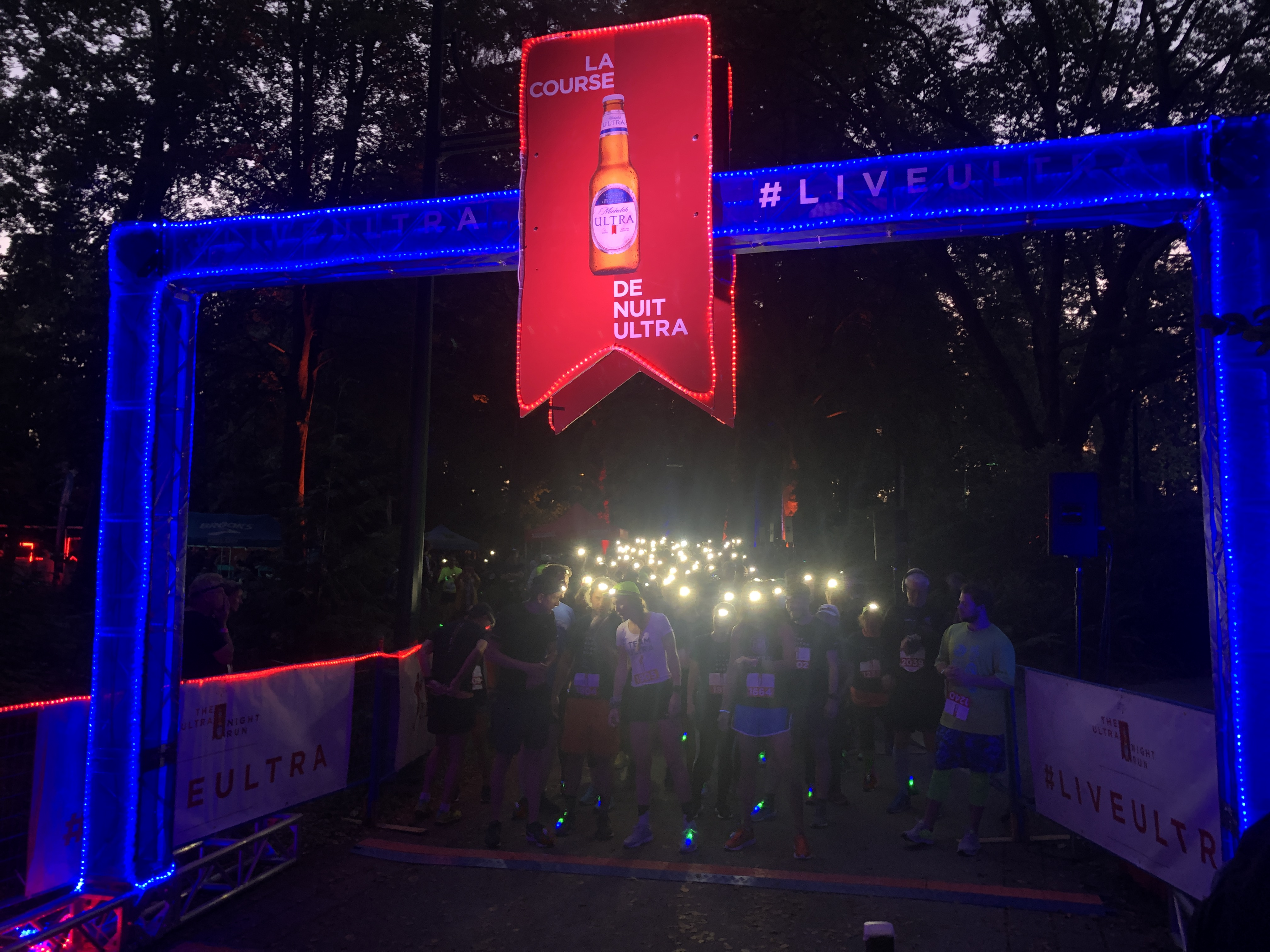ULTRA Night Run lights up Stanley Park