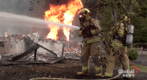 House fire near Rice Lake deemed suspicious: Northumberland OPP (00:55)