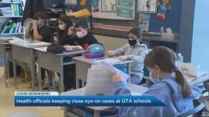 Toronto Public Health investigates as COVID-19 cases appear in schools (02:21)