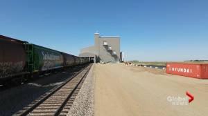 Saskatchewan commodity trader completes rail network (01:13)