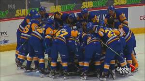 Saskatoon Blades continue to excel in the WHL's Regina hub (01:45)