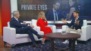 Jason Priestley shares secrets from Private Eyes Season 4