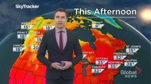 Saskatchewan weather outlook: July 10