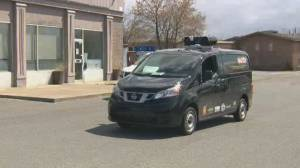 Montreal public health deploys sound truck to encourage residents in vulnerable boroughs to get vaccinated (01:52)