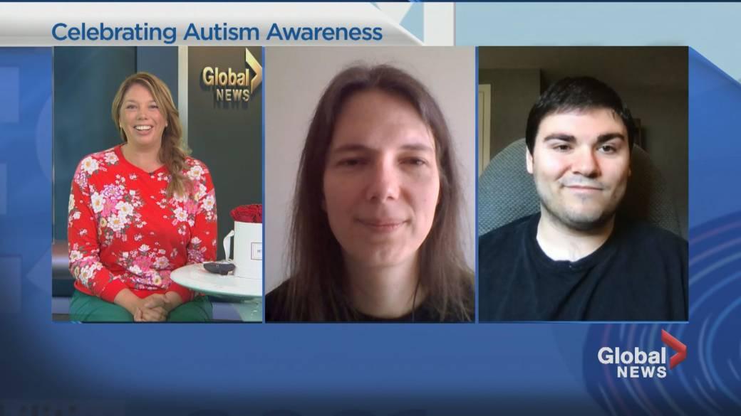 Click to play video: 'Celebrating Autism Awareness'