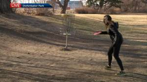 Getting active with a round of disc golf (01:44)