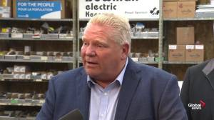 Ford says 'great' transit system will be built in Toronto with 3 levels of government